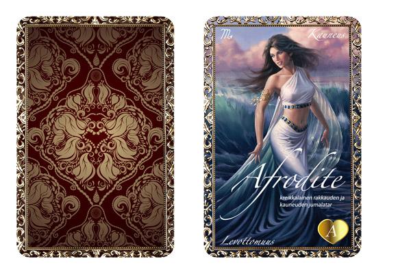 Uudet Sisäinen jumalatar® -kortit